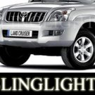 2007 2008 2009 Toyota LC70 Xenon Fog Lamps Driving Lights Foglamps Foglights Kit