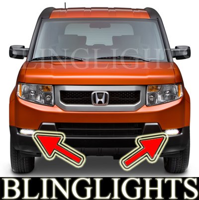 2009 2010 2011 Honda Element Xenon Foglamps Foglights Kit EX LX Driving Lights