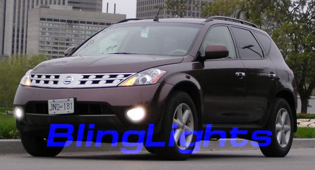 2003-2007 Nissan Murano z50 Driving Lights Fog Lamps