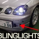 1998 1999 2000 2001 2002 2003 2004 2005 Lexus GS Halo Fog Lamps Angel Eye Lights GS300 GS400 GS430