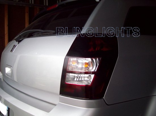 2005-2008 Dodge Magnum Tinted Smoked Taillamp Taillights Overlays Film Protection