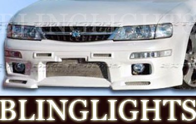 1995 1996 1997 1998 1998 1999 Nissan Maxima Extreme Dimensions Body Kit Foglamps Fog Lamps Lights