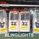 Toyota Prius Replacement OEM HID Head Lamp Light Bulbs Set Pair