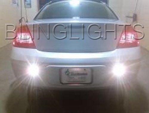 2001 2002 2003 Chrysler Sebring Sedan Rear Bumper Fog Lamps Backup Lights Reverse Foglamps Kit