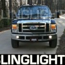 2008 2009 2010 Ford F450 F-450 Super Duty Xenon Fog Lamps Driving Lights Foglamps Foglights Kit