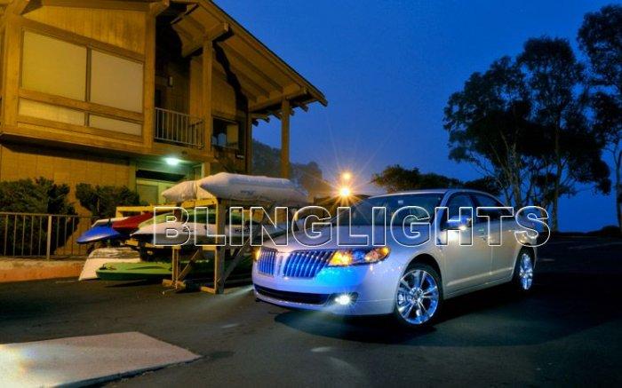 Lincoln MKZ Halo Fog Lamps Angel Eye Driving Lights Kit foglamps drivinglights