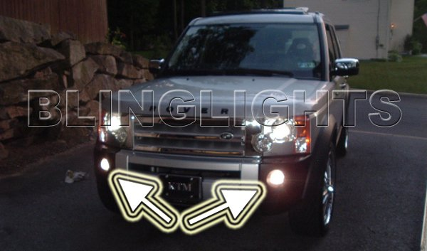 Land Rover Discovery 3 LR3 Fog Lamps Driving Lights Kit