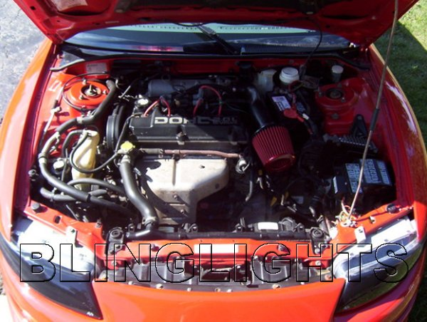1995 1996 1997 1998 1999 2000 Dodge Avenger Air Intake Carbon Fiber Kit