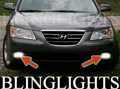 2009 2010 Hyundai Sonata Bumper Foglamps Driving Lights Kit