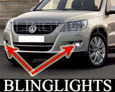2008 2009 2010 2011 VW Tiguan Fog Lights Lamps Volkswagen