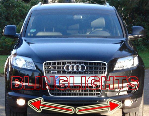 2007 2008 2009 Audi Q7 Xenon Fog Lights Driving Lamps Kit