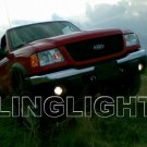 2001 2002 2003 Ford Ranger Blue Halo Angel Eye Fog Lights Lamps