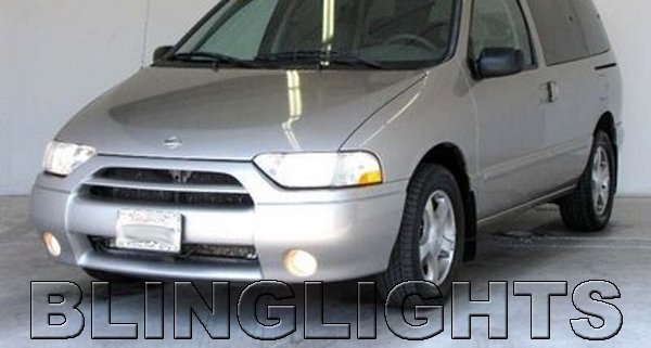 2001 2002 Nissan Quest Angel Eye Fog Lamps Lights