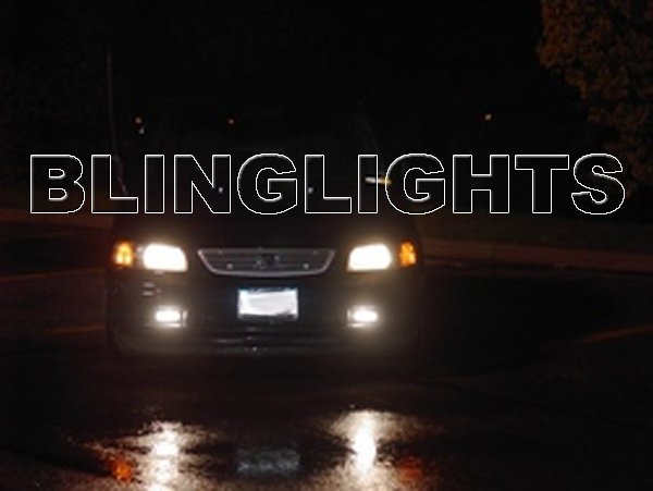 1994 1995 1996 1997 1998 Honda Odyssey Xenon Fog Lamps Driving Lights Foglamps Foglights Kit