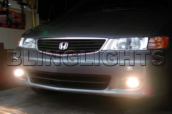 1999 2000 2001 2002 2003 2004 Honda Odyssey Xenon Fog Lamps Driving Lights Foglamps Foglights Kit