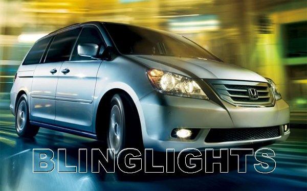 2008 2009 2010 Honda Odyssey Xenon Fog Lamps Driving Lights Foglamps Foglights Kit