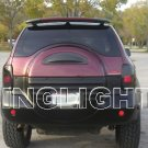 Isuzu VehiCROSS Tinted Smoked Tail Lamps Light Overlays Film Protection