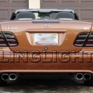 2000 2001 2002 Mercedes CLK55 Smoke Tint Overlays Taillamps Taillights Tail Lamps Lights AMG CLK 55