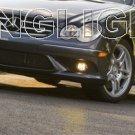 2009 Mercedes-Benz CLK550 LED Fog Lights Driving Lamps FogLamps Foglights Kit CLK 550 CLK-Class
