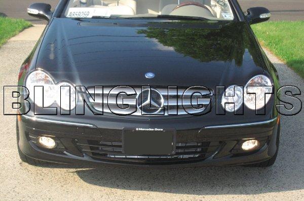 2006 2007 2008 Mercedes-Benz CLK350 LED Fog Lights Driving Lamps Foglamps Kit CLK 350