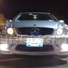 2006 2007 2008 2009 Mercedes-Benz CLK200 Xenon Fog Lights Driving Lamps Foglamps Lamp Kit CLK 200