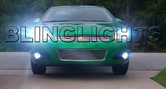 2006 2007 2008 2009 Chevy Impala Xenon Fog Lights Driving Lamps Kit Chevrolet
