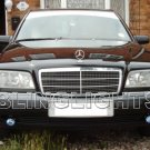 1994 1995 1996 1997 Mercedes-Benz C200 Xenon Fog Lights Driving Lamps Foglamps Lamp Kit C 200 W202