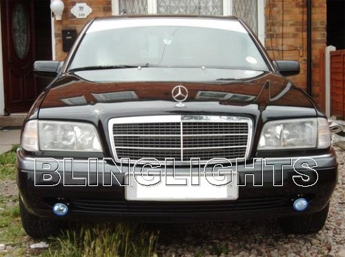 1994 1995 1996 1997 Mercedes-Benz C280 Xenon Fog Lights Driving Lamps Foglamps Kit C 280 W202