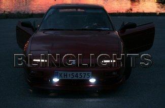 1989 1990 1991 1992 1993 1994 Nissan 200SX S13 Xenon Fog Lights Driving Lamps Kit