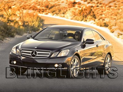 2010 2011 Mercedes-Benz E220 Saloon CDI SE Fog Lights Driving Lamps Kit w212 e 220 BlueEFFICIENCY