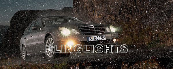 2010 2011 Mercedes-Benz Estate E500 Fog Lamps Driving Lights E 500 w212 Elegance Avantgarde Sport