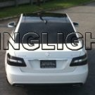 2010 2011 Mercedes-Benz E200 Saloon CDI CGI Smoked Taillights Taillamps Tint Film Overlays E 200