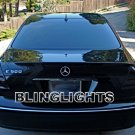 2003 2004 2005 2006 Mercedes E320 Smoked Taillights Taillamps Tail Lights Lamps Tint Film Overlays