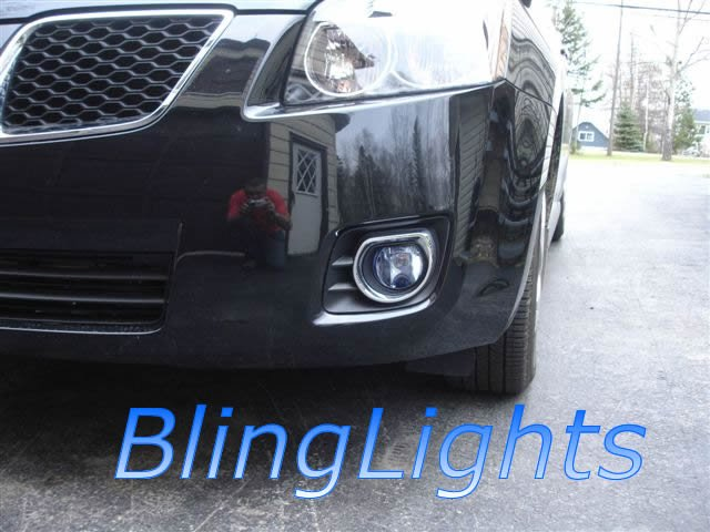 2009 2010 Pontiac Vibe Xenon Fog Lights Driving Lamps Kit