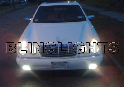 1996 1997 Mercedes-Benz E300 Xenon Fog Lights Driving Lamps Foglamps Kit E 300 Diesel E-Class w210