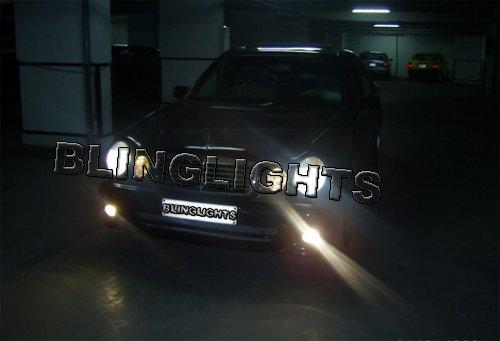 1998 1999 Mercedes-Benz E55 AMG Fog Lights Driving Lamps Foglamps Foglights Kit Mercedes E 55 w210
