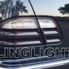 2000 2001 2002 Mercedes-Benz E430 Smoked Taillamps Taillights Tint Film Overlays E 430 w210 e-class