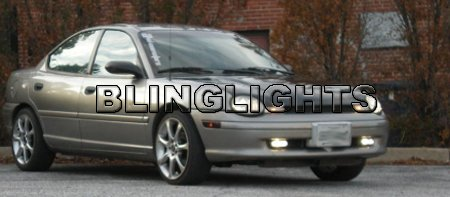 1995 1996 1997 1998 1999 Chrysler Neon LE LX GLX Xenon Fog Lights Driving Lamps Kit