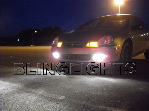 2000 2001 2002 Chrysler Neon R/T RT Xenon Fog Lights Driving Lamps Kit