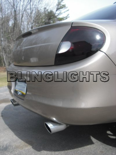 2000 2001 2002 Chrysler Neon Tint Smoke Tail Light Lamps Overlays Film Protection