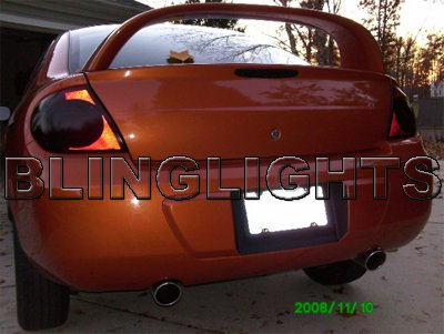 2003 2004 Chrysler Neon Smoke Tint Taillights Taillamps Overlays Film Protection