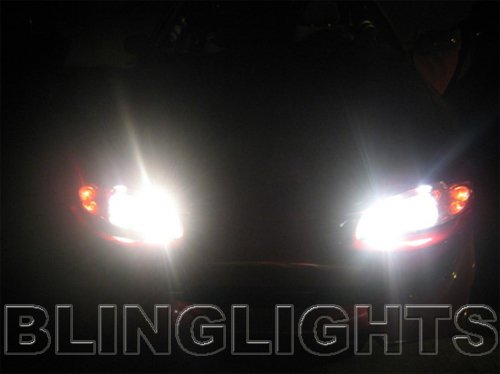 1995 1996 Mitsubishi Eclipse Bright White Light Bulbs for Headlamps Headlights Head Lamps Lights