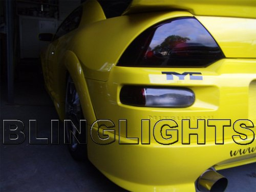 00-02 Mitsubishi Eclipse Tint Smoked Taillamp Taillight Overlays Film Protection