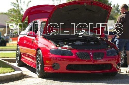 2004 2005 2006 Pontiac GTO Tint Protection Film for Smoked Headlamps Headlights Head Lamps Lights