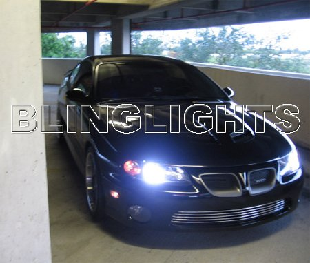 2004 2005 2006 Pontiac GTO Xenon HID Conversion Kit Headlamps Headlights Head lamps lights