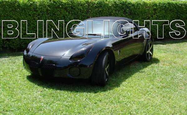 2006 2007 2008 2009 Pontiac Solstice Tint Protection Film for Smoked Headlamps Headlights