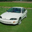 1995 1996 1997 1998 1999 Chevy Cavalier Tint Protection Film for Smoked Headlamps Headlights