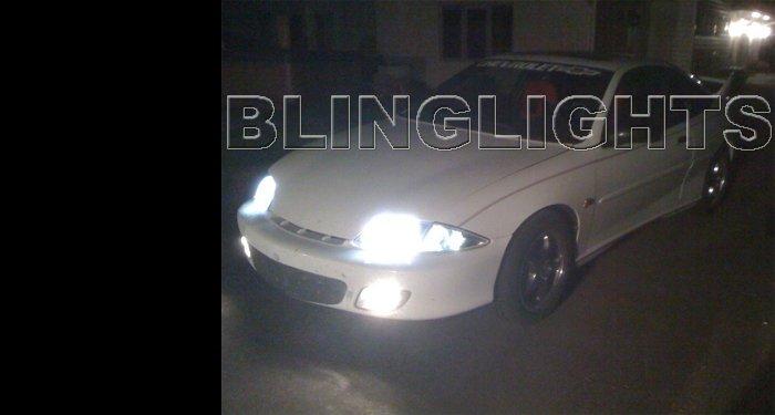 2000 2001 2002 Chevy Cavalier 4750K Halogen Headlamps Bulbs Chevrolet Headlights Head Lamps Lights
