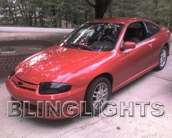 2003 2004 2005 Chevy Cavalier Tint Protection Film for Smoked Headlamps Headlights Head Lamps Lights