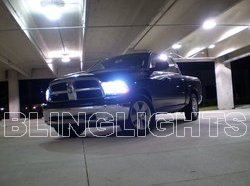 2009 2010 2011 Dodge Ram Blue Xenon HID Conversion Kit Headlamps Headlights Head Lamps Lights